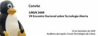 Convite Linux 2009